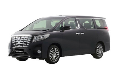 Toyota Alphard Jogja